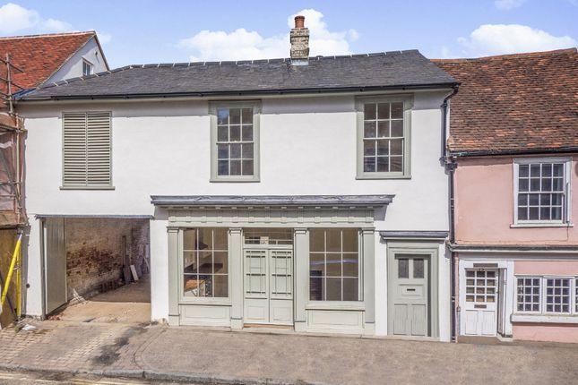 Thumbnail Town house for sale in Ballingdon Street, Sudbury