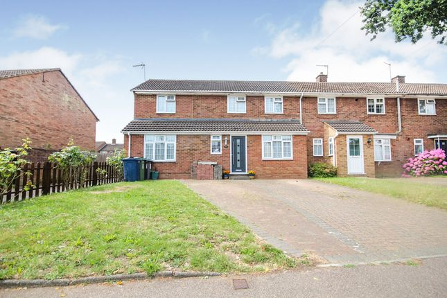 Thumbnail End terrace house for sale in Boxted Road, Hemel Hempstead