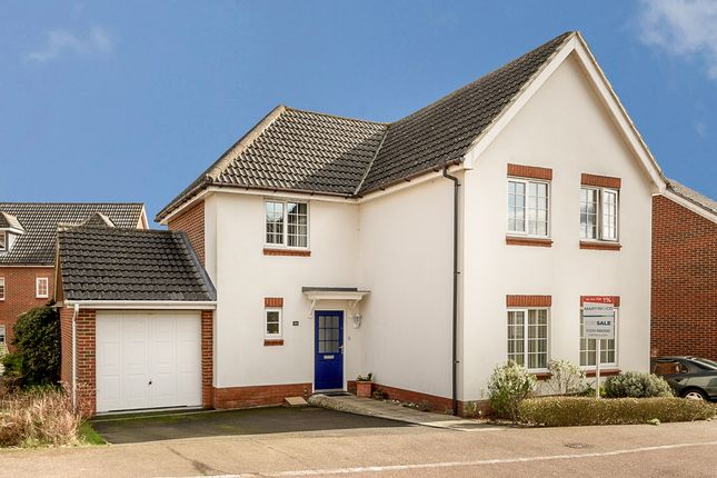 Thumbnail Detached house for sale in Spindlewood End, Ashford, Kent