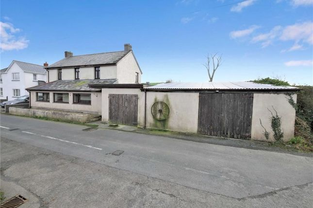 Thumbnail Detached house for sale in Treskinick Cross, Poundstock, Bude, Cornwall