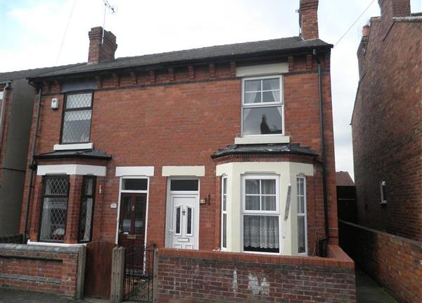 Thumbnail Semi-detached house to rent in Edward Road, Eastwood, Nottingham