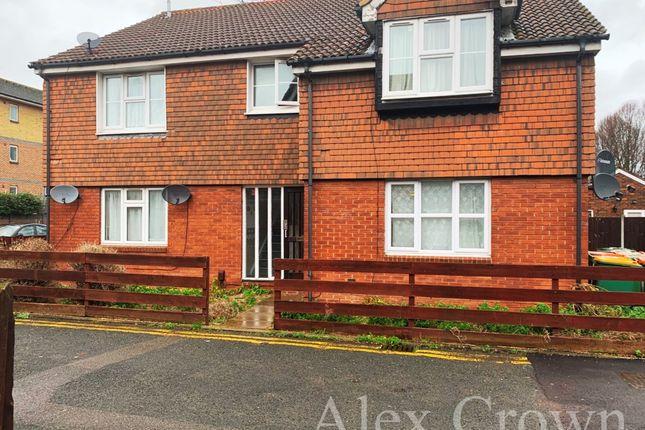 Thumbnail Flat to rent in Giralda Close, London