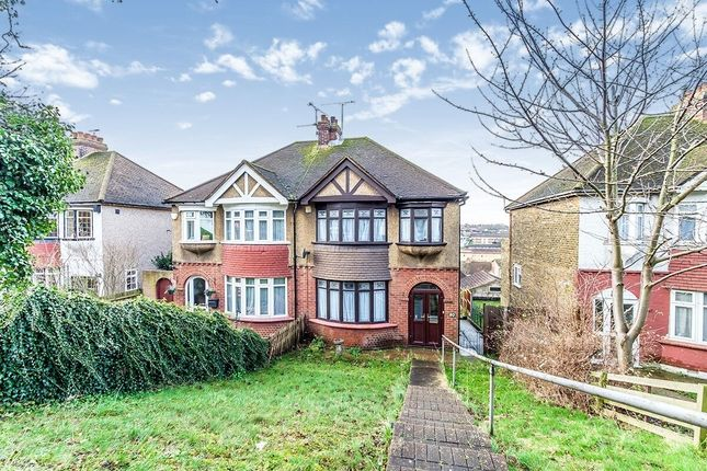 Thumbnail Semi-detached house to rent in City Way, Rochester
