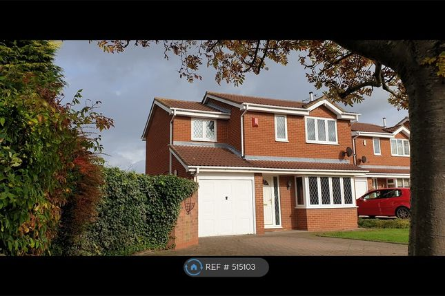 Thumbnail Detached house to rent in Bitham Court, Stretton, Burton-On-Trent