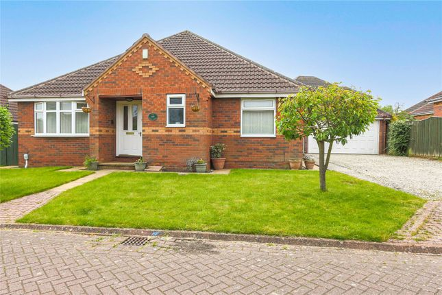 Thumbnail Bungalow for sale in Mill Rise, Skidby, Cottingham