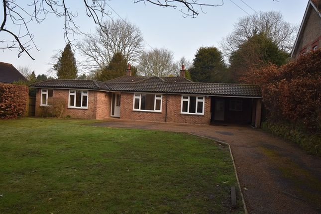 Thumbnail Detached bungalow for sale in Fir Toll Road, Mayfield