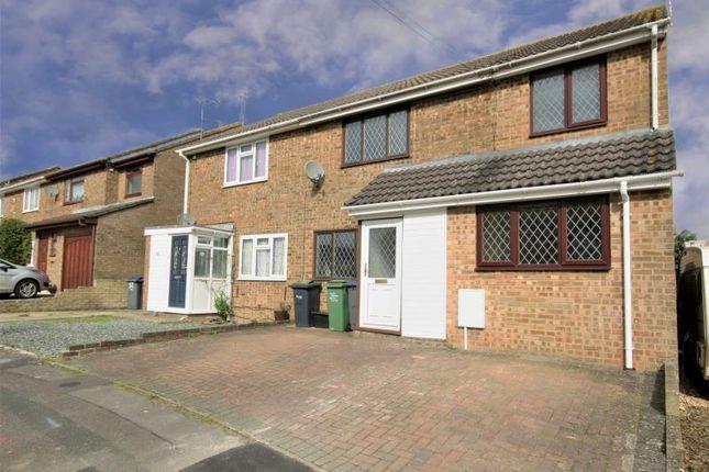 Thumbnail Semi-detached house to rent in Coleridge Close, Royal Wootton Bassett