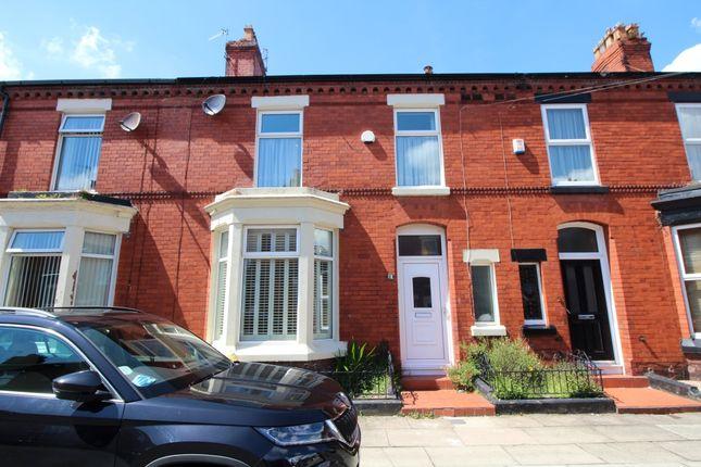 Thumbnail Terraced house for sale in Roxburgh Avenue, Aigburth