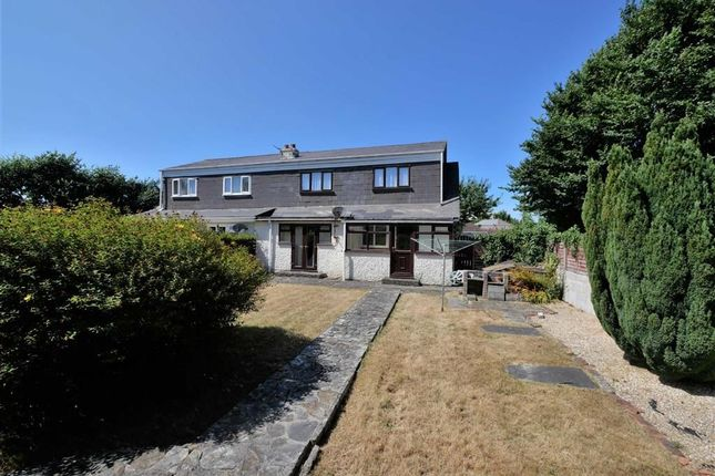 Thumbnail Semi-detached house for sale in Binhamy Crest, Cleavelands, Bude, Cornwall