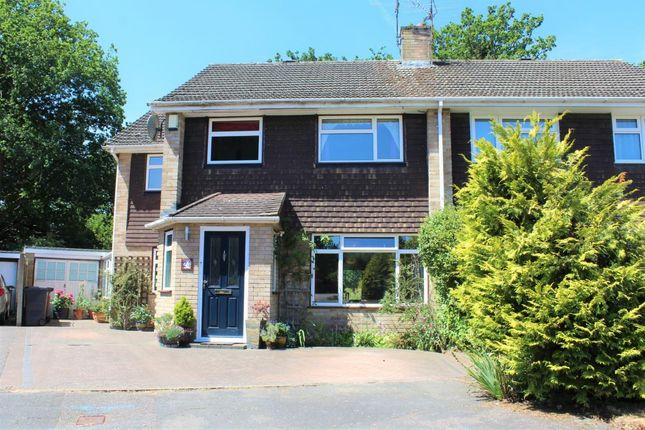 Thumbnail Semi-detached house for sale in Mytchett, Camberley