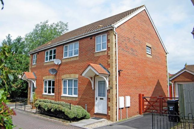 Thumbnail Semi-detached house to rent in Cashford Gate, Taunton, Somerset
