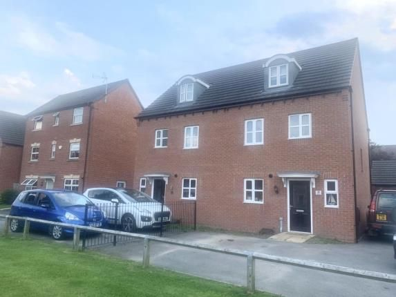 4 bed terraced house for sale in Coral Crescent, Warsop, Mansfield, Nottinghamshire NG20