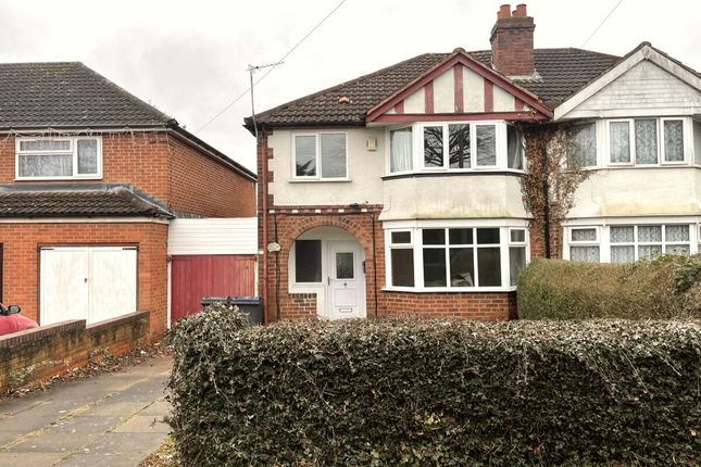 3 bed semi-detached house for sale in Francis Road, Stechford, Birmingham B33