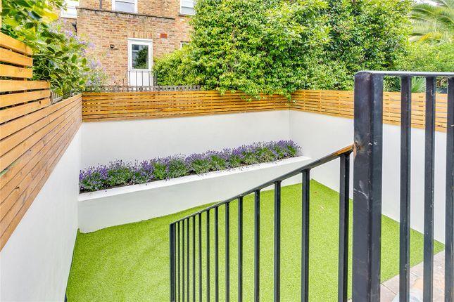 Garden of Reporton Road, Fulham, London SW6