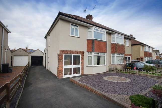 Thumbnail Semi-detached house for sale in Quakers Road, Downend