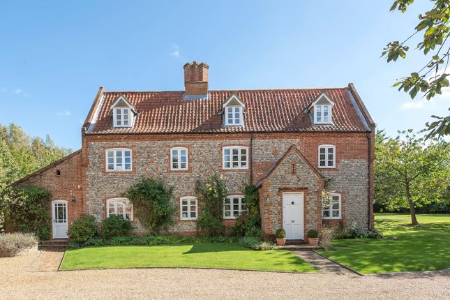Thumbnail Detached house for sale in Franklins Farm, Lower Bodham, Holt, Norfolk