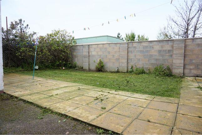 Garden of Sandbank Road, Towyn LL22