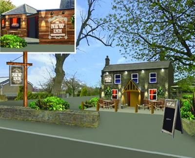 Thumbnail Pub/bar to let in New Inn, 170 South View Road, East Brierly, Bradford, West Yorkshire