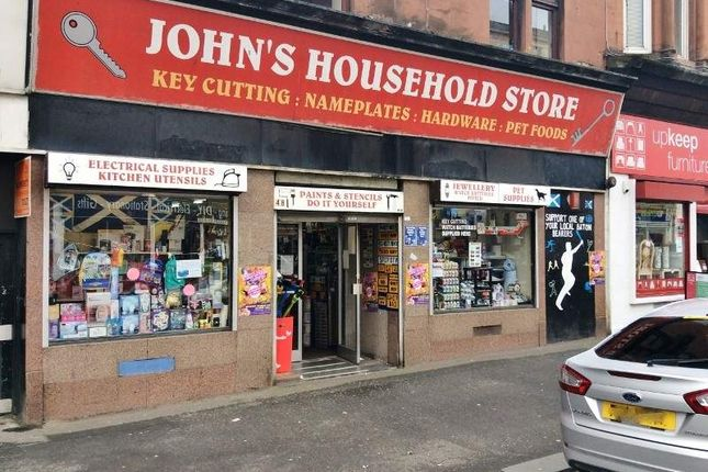 Thumbnail Retail premises for sale in 48 Westmuir Street, Glasgow