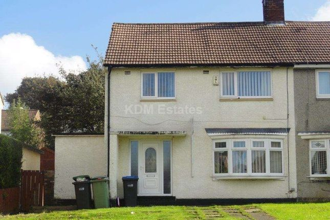 Thumbnail Semi-detached house to rent in Fairbairn Road, Peterlee