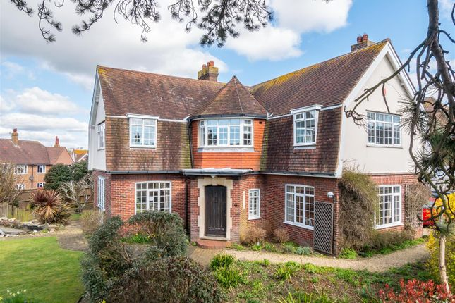 Thumbnail Detached house for sale in Grove Road, Seaford