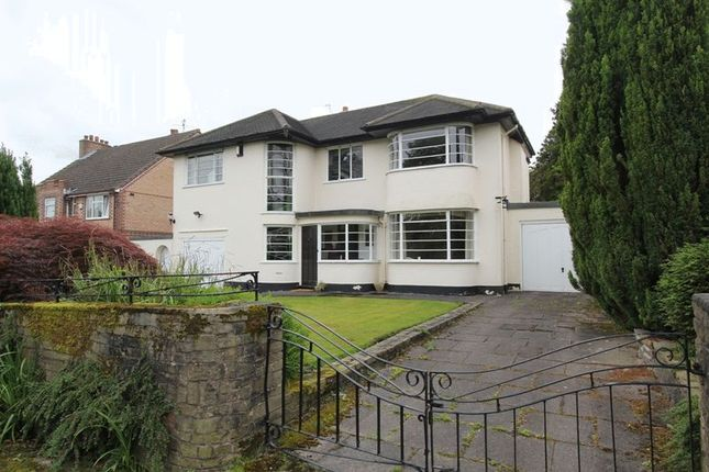 Thumbnail Detached house for sale in Sutherland Drive, Newcastle-Under-Lyme