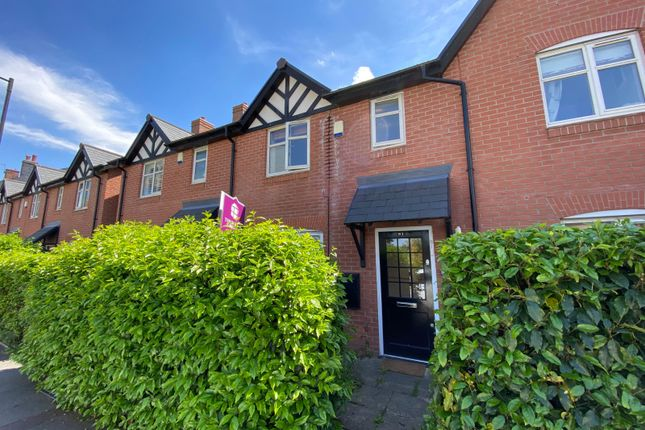 3 bed terraced house to rent in Woodfield Road, Altrincham WA14