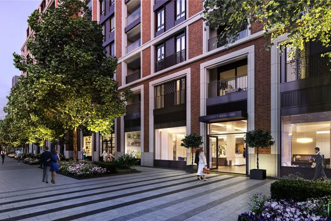 Thumbnail Flat for sale in Garrett Mansions, West End Gate, Newcastle Place, London