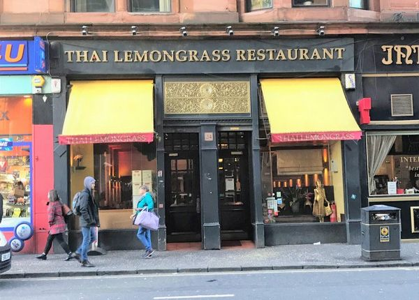 Restaurant/cafe for sale in Renfrew Street, Glasgow