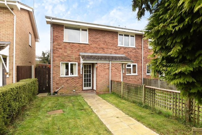 Thumbnail Terraced house to rent in Blanchard Close, Leominster
