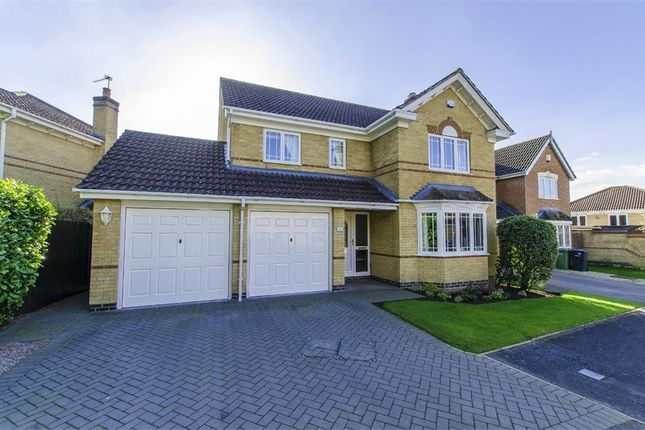 Thumbnail Detached house for sale in Pavilion Close, Fair Oak, Eastleigh, Hampshire