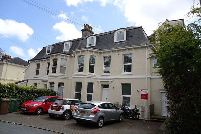 Thumbnail Flat to rent in Hartley Avenue, Mannamead, Plymouth