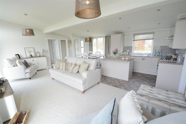 Thumbnail Detached bungalow for sale in St. George Close, Gateforth Park, Selby