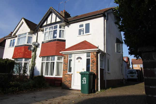 Thumbnail Semi-detached house to rent in Elm Drive, Hove