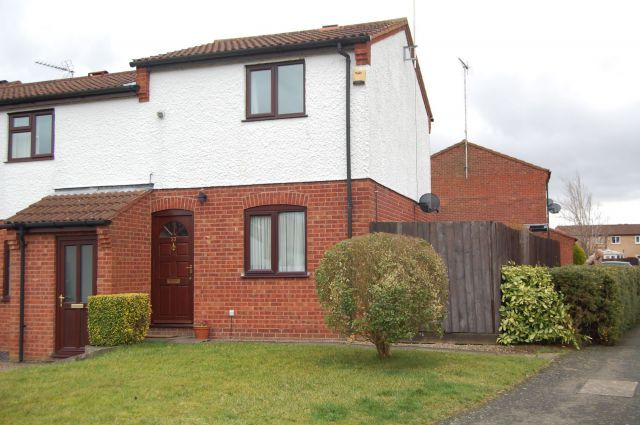Thumbnail End terrace house to rent in Lincoln Way, Stefan Hill, Daventry