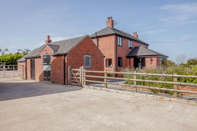 Thumbnail Equestrian property for sale in Lime Kiln Road, Butterton Moor Bank, Butterton, Leek