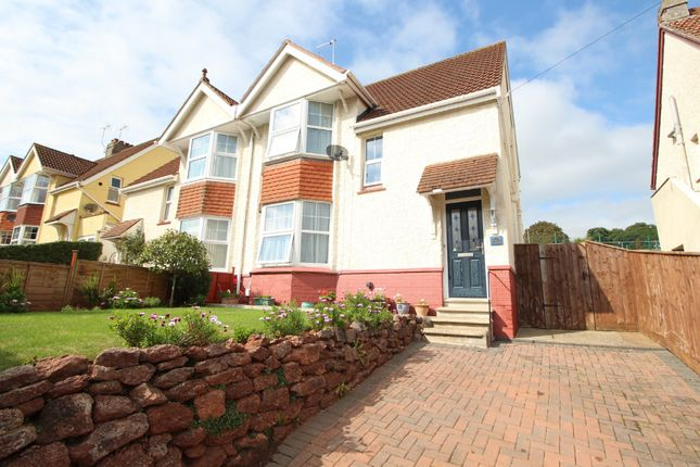 Thumbnail Semi-detached house for sale in Higher Polsham Road, Paignton