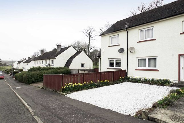 Thumbnail 2 bedroom terraced house for sale in Quarry Drive, Kilmacolm