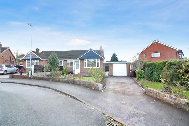 2 bed semi-detached bungalow for sale in Oakdene Close, Blythe Bridge, Stoke-On-Trent
