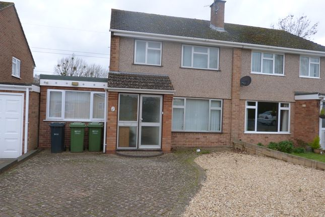 Thumbnail Semi-detached house to rent in Monarch Drive, Worcester
