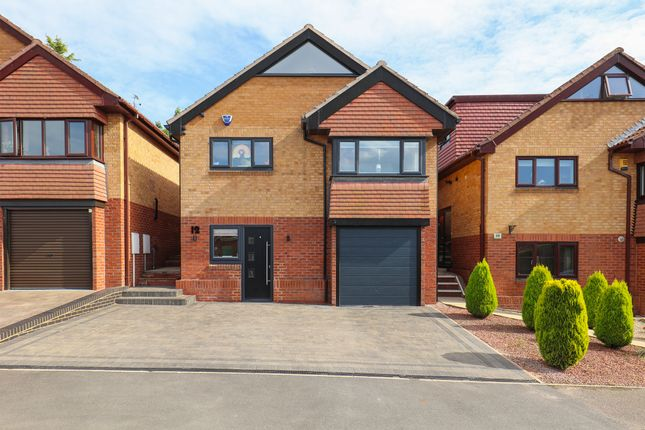 Thumbnail Detached house for sale in Ivyside Gardens, Killamarsh, Sheffield