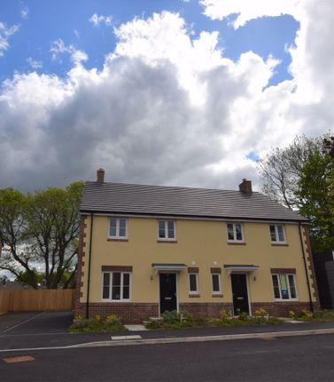 Thumbnail Semi-detached house for sale in 18 Maple Gardens, Govilon, Abergavenny