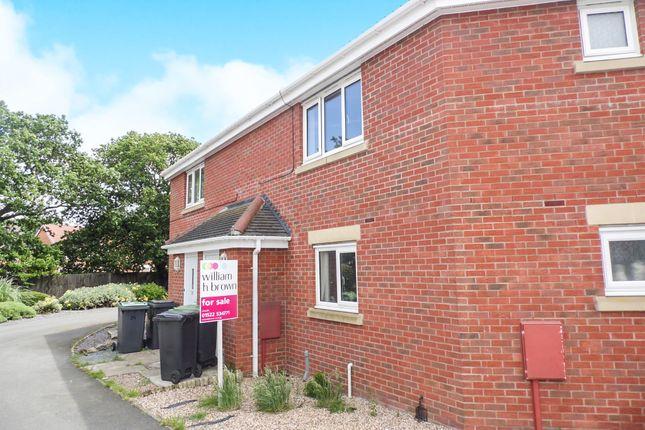 Thumbnail Maisonette for sale in Caesar Road, North Hykeham, Lincoln