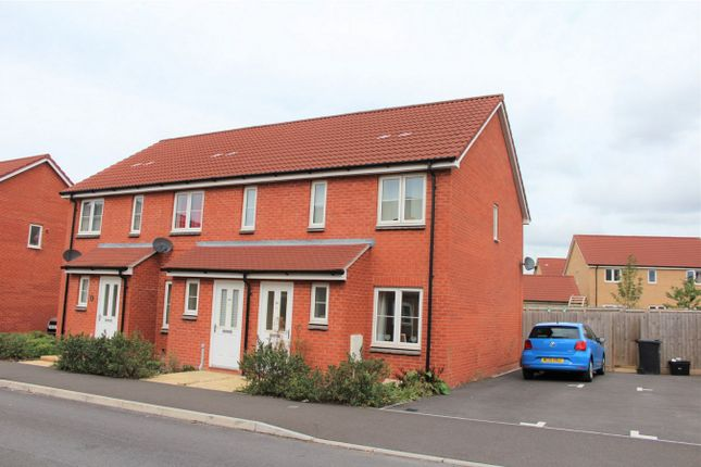 Thumbnail End terrace house to rent in Merino Way, Bridgwater