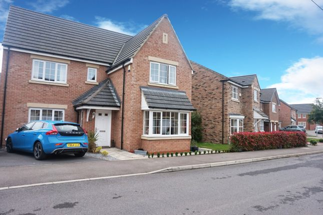 4 bed detached house for sale in Fleming Way, Willington, Crook