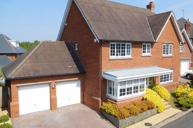 Thumbnail Detached house for sale in Woodlands Drive, Wychwood Park, Weston
