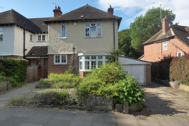 Thumbnail Semi-detached house to rent in Carless Avenue, Harborne, Birmingham, West Midlands