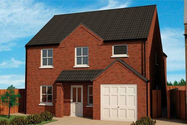 Thumbnail Detached house for sale in Kettle Drive, Newborough, Peterborough