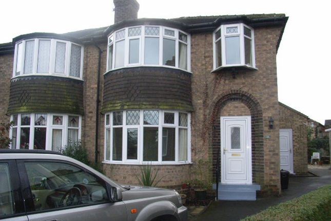 Thumbnail Semi-detached house to rent in Rossett Way, Harrogate