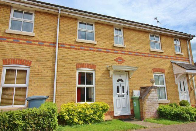 Thumbnail End terrace house for sale in Old Warren, Taverham, Norwich